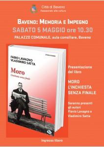 Presentazione libro MORO - 5.5.18